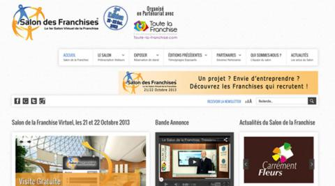Franchise nouvelle dition du salon virtuel des franchises en octobre l 39 officiel de la franchise - Salon de la franchise date ...