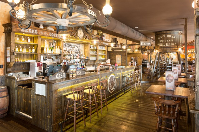 Old Wild West, une franchise basée sur l'univers far west du restaurant